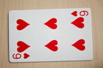 Six Of Hearts - Public Domain Pictures