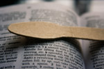 Spoon On Book - Public Domain Pictures