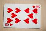 Ten Of Hearts - Public Domain Pictures