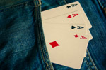 Ace Cards In Pocket - Public Domain Pictures
