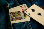 Cards In Pocket - Public Domain Pictures