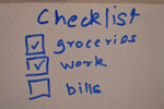 Checklist To Do List - Public Domain Pictures