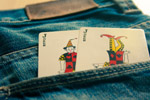 Joker Cards In Pocket - Public Domain Pictures