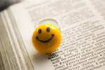 Smiley And Book - Public Domain Pictures