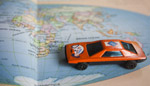 Toy Car World Map - Public Domain Pictures