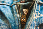 Zip Jeans Closeup - Public Domain Pictures