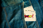 Joker Cards In Jeans - Public Domain Pictures
