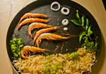 Prawns Food Decoration - Public Domain Pictures