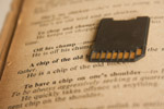 Sdcard Chip On Book - Public Domain Pictures