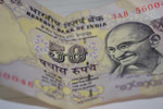 Rs 50 Note Gandhi - Public Domain Pictures