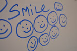 Smile White Board - Public Domain Pictures