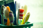 Toothbrush Bristles - Public Domain Pictures