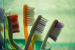 Toothbrushes Head - Public Domain Pictures