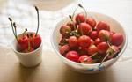 Cherry Bowl Fruit - Public Domain Pictures