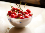 Cherry Fruit Bowl - Public Domain Pictures
