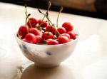 Cherry Fruit Bowl - Public Domain Pictures