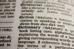 Dictionary Word - Public Domain Pictures