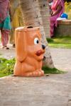Dog Shaped Dustbin - Public Domain Pictures