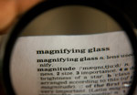 Magnifying Glass Word - Public Domain Pictures