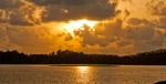 Sunset Sea Lake - Public Domain Pictures