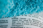 Towel Dictionary Word - Public Domain Pictures