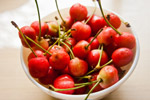 Bowl Of Cherry Fruit - Public Domain Pictures