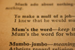 Mums The Word - Public Domain Pictures