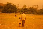 Father Child Walking - Public Domain Pictures