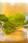Leaf Juice Glass - Public Domain Pictures