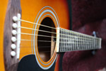 Guitar Angle - Public Domain Pictures