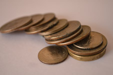 76-array-of-coins - Public Domain Pictures