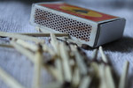 Matchbox Matchsticks - Public Domain Pictures