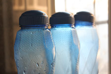 9-blue-bottles - Public Domain Pictures