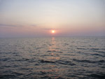 Ocean Sunset - Public Domain Pictures
