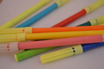 Colored Pens Kids - Public Domain Pictures