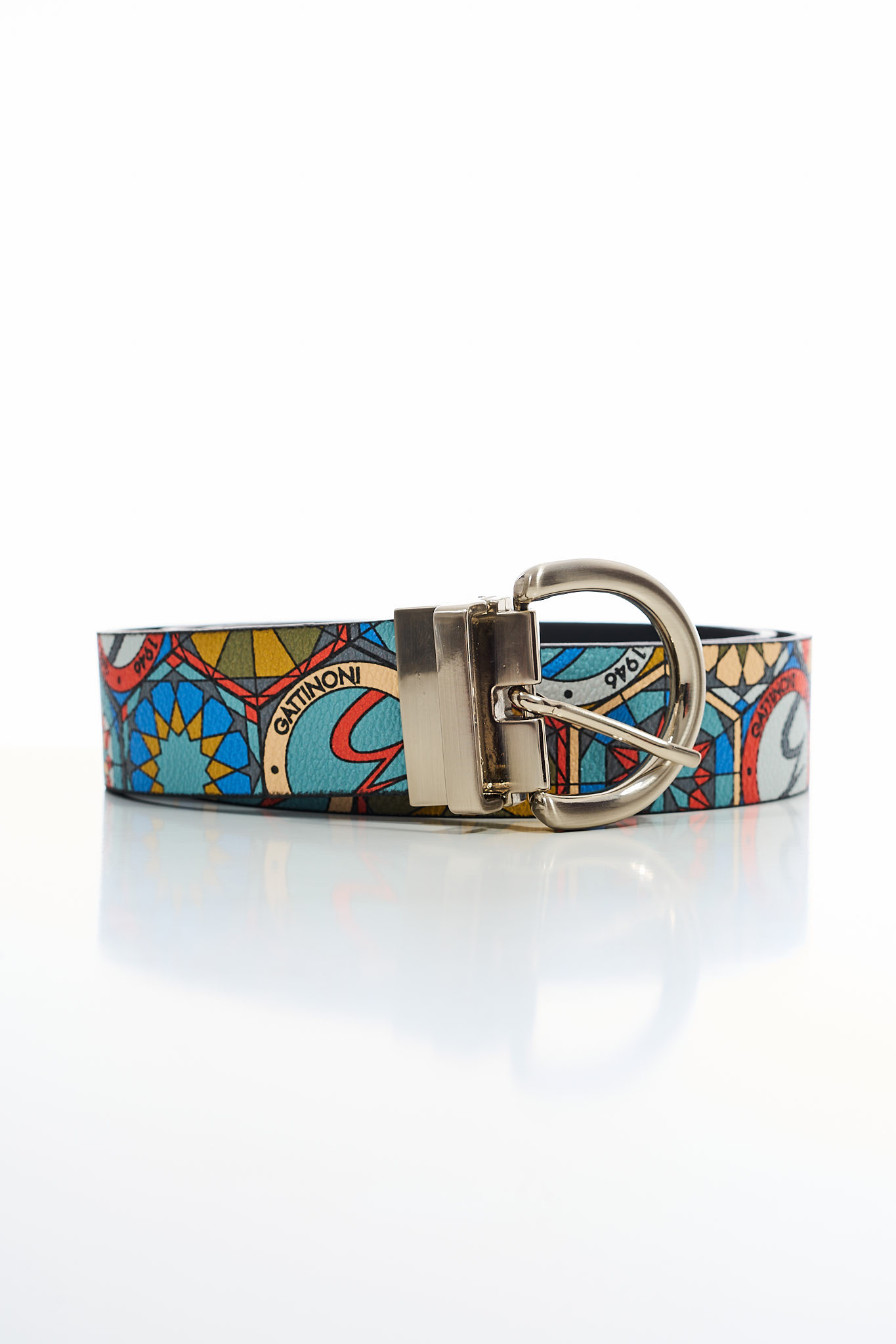 Cintura in pelle GATTINONI | Cintura | WINAH2068WHD047