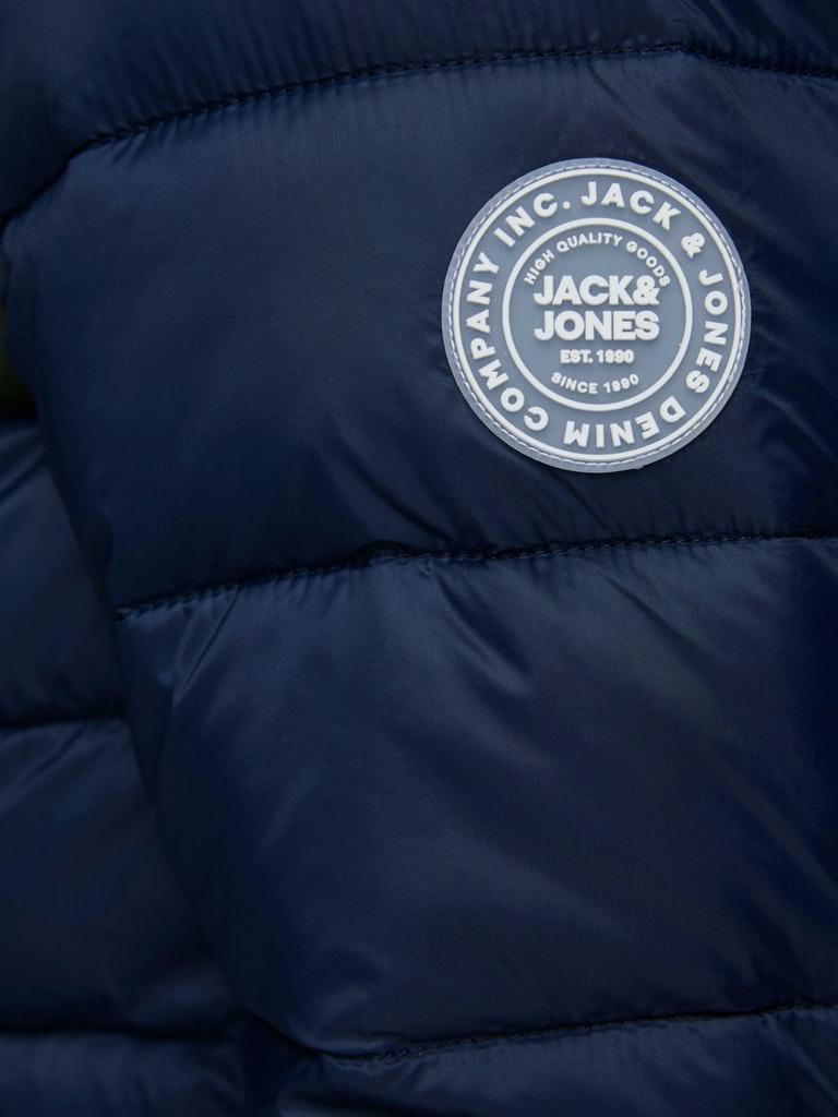 JJEMAGIC PUFFER HOOD STS JACK&JONES   Giubbotto   12173751YOLK YELLOW