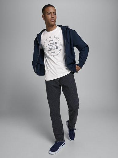 T-shirt JACK&JONES   T-shirt   12177533CLOUD DANCER