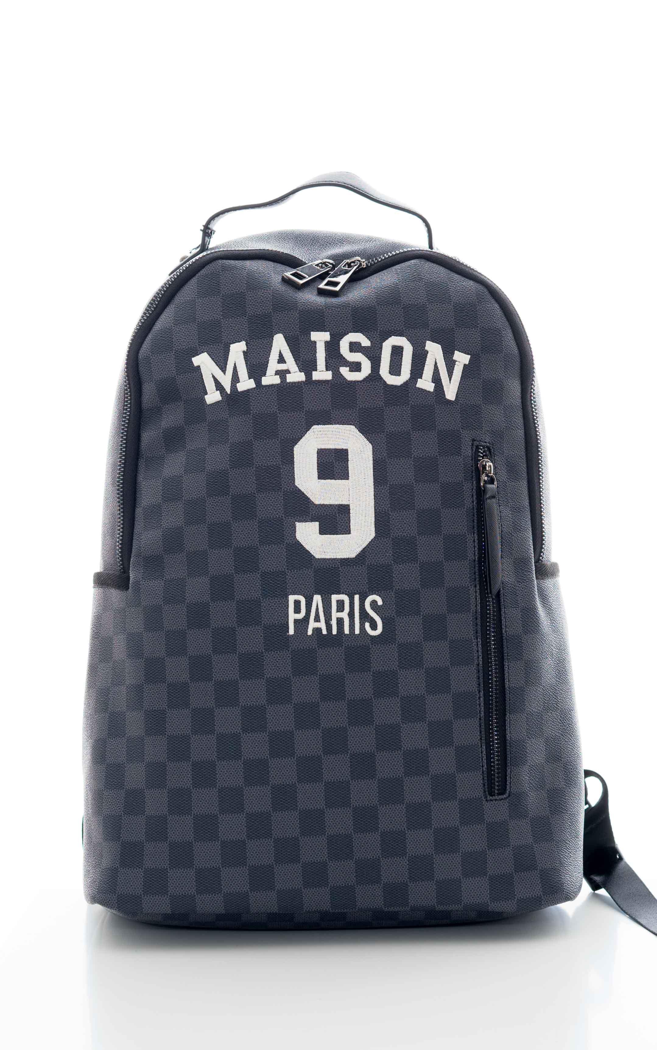 Zaino in ecopelle MAISON 9 PARIS | Zaino | WILSONUNICA