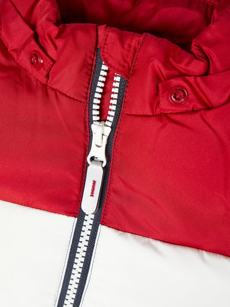 NMMMAY PUFFER JACKET2 NAME IT | Giubbotto | 13178637RED DAHLIA
