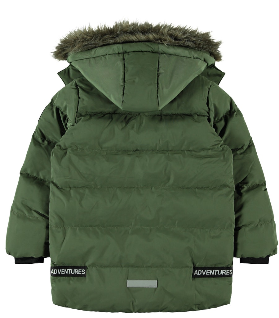 NKMMANNIBAL LONG PUFFER JACKET NAME IT | Giubbotto | 13178647THYME