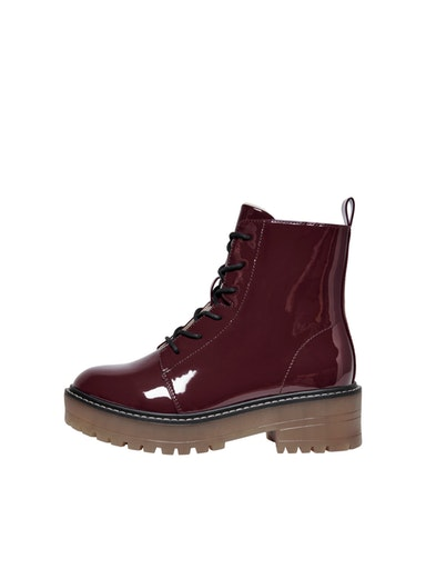ONLBRANDY-6 LACE UP WINTER BOOT ONLY SHOES | Scarpe | 15212290BURGUNDY