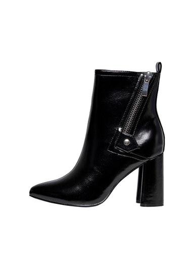 ONLBRODIE-2 PU ZIP HEELED BOOT ONLY SHOES | Scarpe | 15212296BLACK
