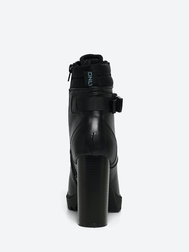 ONLTAYA-2 PU BUCKLE HEELED BOOT ONLY SHOES | Scarpe | 15212299BLACK