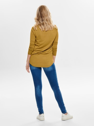 ONLMILA LACY L/S LONG PULLOVER KNT NOOS ONLY | Maglia | 15109964CHAI TEA
