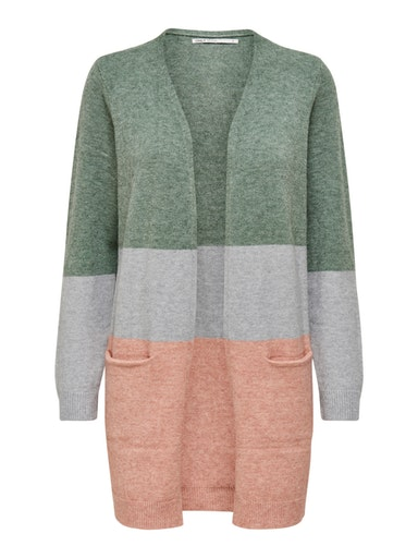 ONLQUEEN L/S LONG CARDIGAN KNT NOOS ONLY   Cardigan   15158746BALSAM GREEN