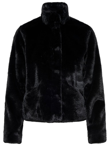 ONLVIDA FAUX FUR JACKET OTW NOOS ONLY | Giubbotto | 15160013BLACK
