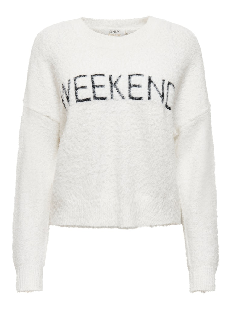 ONLWEEKEND L/S PULLOVER KNT ONLY | Maglia | 15210643CLOUD DANCER
