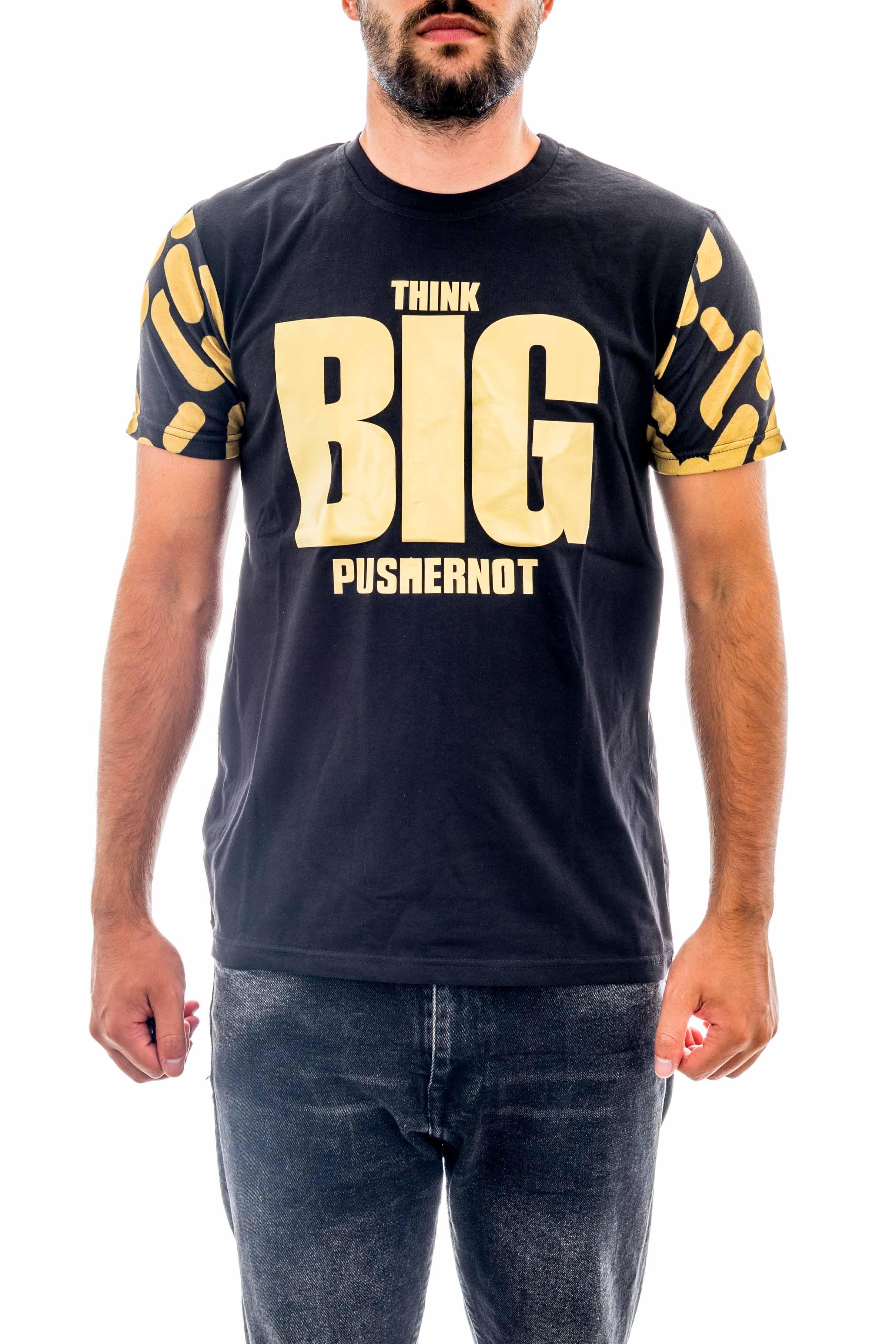 T-shirt PUSHERNOT | T-shirt | PUBIG08BLACK
