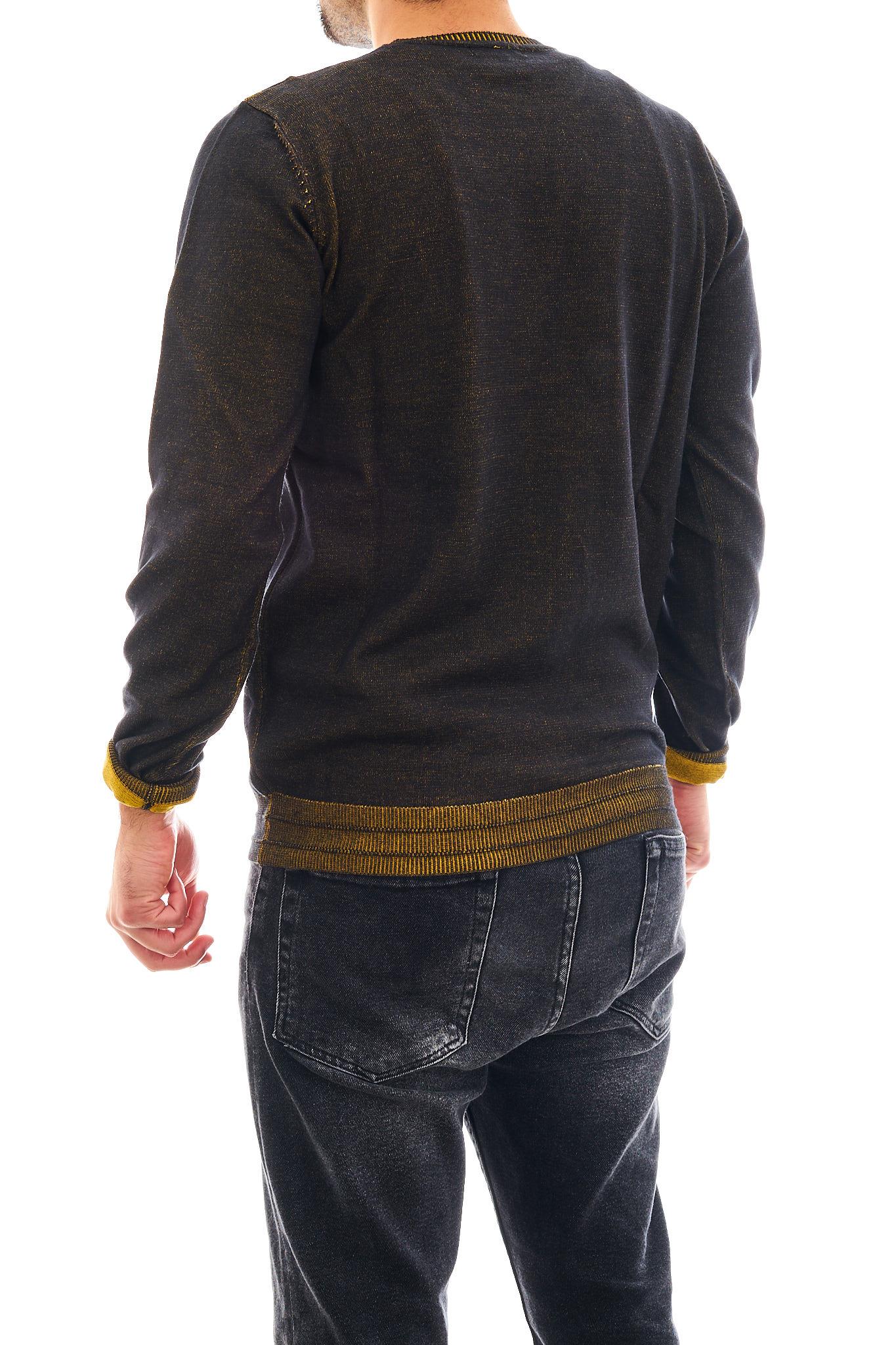 Pullover a girocollo SSEINSE | Maglia | MI1626SSNERO/SENAPE